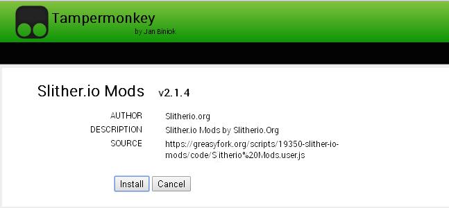 Install Slither.io Mods V2.1.4