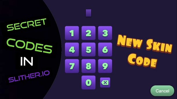 Slither.io Mobile Codes