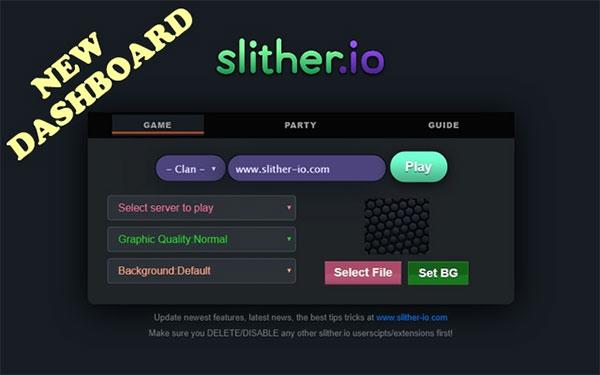 Slither-io.com Mods